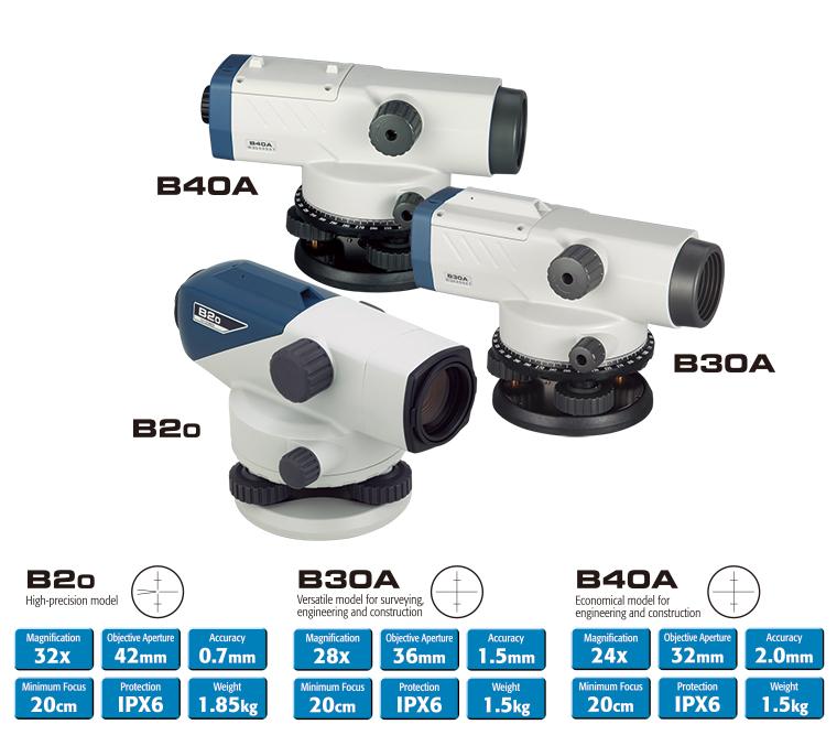 Máy thủy bình sokkia B20/B30A/B40A